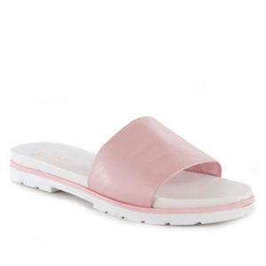 NWT Seychelles Ambition Leather Slide Sandals